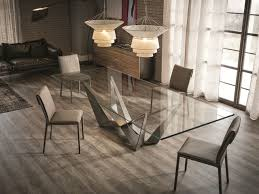 Dining Room Furniture Nyc Glass Dining Table Skorpio By Cattelan Italia 2 475 00 Modern