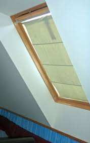 How To Repair Velux Blinds Easily Make Your Own Diy Roman Blinds For Your Velux Roof Window