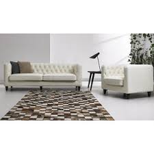 leather livingroom set modern living room sets allmodern