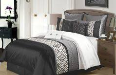 White Comforter Sets Queen Modern And Elegant Black And White Comforter Sets Queen Size