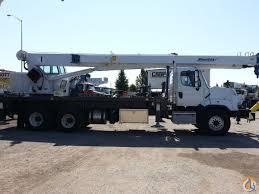 30 ton manitex swing cab boom truck model 30112s crane for in