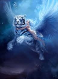 in the mythology byakko is the guardian beast from the
