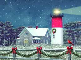 nautical christmas cards 65 best christmas lighthouses images on light house