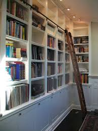 Build Bookcases Build Bookcase With Ladder Thesecretconsul Com