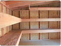 basement shelving 2x4 storage diy workshops studios