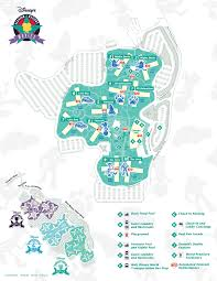 Map Of Walt Disney World by Disney World Maps For Each Resort