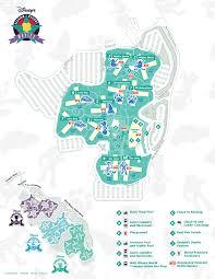 Disney World Hotel Map Disney World Maps For Each Resort