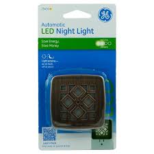 ge led night light general electric led coverlite trellis nightlight target