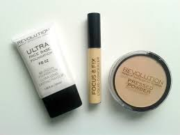 my must have trio from makeup revolution ellis tuesday