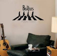 online shop the beatles abbey road home decoration wall art decals
