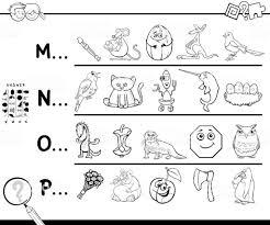 Première Lettre Dun Mot Page à Colorier Pour Les Enfants  Cliparts