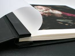 black leather photo album hahnemühle leather inkjet a4 album image science