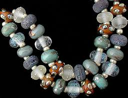 beading necklace images Lampwork beads handmade glass beads for jewelry supplies bracelet jpg