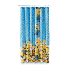 Disney Shower Curtains by Despicable Me Minions Fabric Shower Curtain Home Bed U0026 Bath