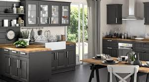 cuisine bois gris moderne cuisine gris bois home design nouveau et amélioré