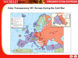 Cold War Germany Map History Of The Modern World The Cold War Mrs Mcarthur Walsingham