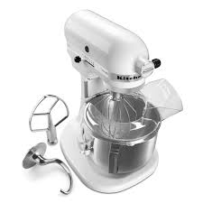 Home Kitchen Aid by Kitchenaid Ksm500ps Pro 500 Series 5 Qt Stand Mixer White