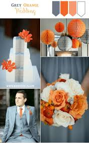 Best Color With Orange Best 25 Orange Grey Wedding Ideas On Pinterest Coral Grey