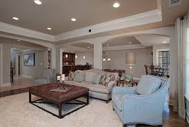 Basement Living Ideas by Startling Bleeker Beige Decorating Ideas For Kitchen Traditional