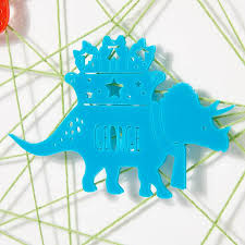 Dinosaur Christmas Decoration by Personalised Christmas Dinosaur Bauble By Owl U0026 Otter