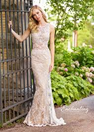 informal wedding dress enchanting by mon cheri 118144 allover lace casual wedding dress