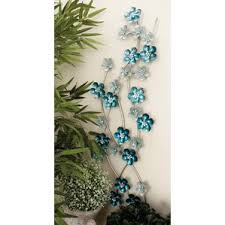 Metal Flower Wall Decor - metal wall art