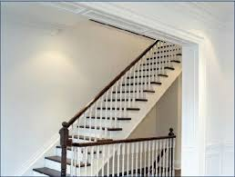 open staircase to basement instead of closed door open stairs to