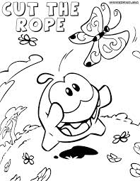 Cut The Rope Coloring Pages Coloring Pages To Download And Print Cut Coloring Pages