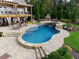 swimming pool small inground pool backyard swimming pools