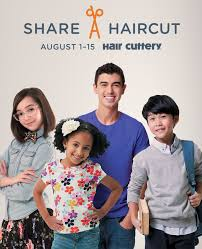 take your child to hair cuttery u0026 share a haircut with a child in