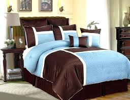 mesmerizing black king size duvet cover bed design blue and brown