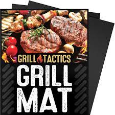 amazon com kona best bbq grill mat heavy duty 600 degree non
