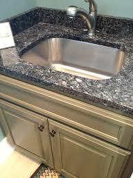 Beautiful Bathroom Sinks by Blue Pearl Granite With Stainless Steel Sink Visit Globalgranite