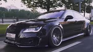 audi a7 modified modified audi a7 s7 rs7 sportback stance slammed widebody