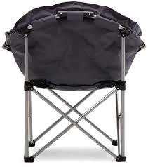 Tofasco Camping Chair by Amazon Com Strathwood Basics Polyester Padded Club Chair Gray