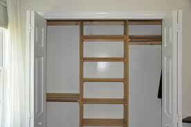 fresh how to build closet shelves and drawers 20756