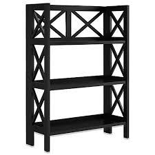 3 shelf folding bookcase bed bath u0026 beyond