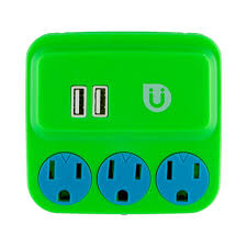 ls with usb outlets uber 3 grounded outlet and 2 usb port 2 1 amp tap green and blue