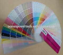 wall business color chart color shade cards color fandeck for