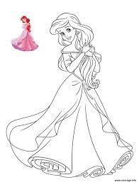 Coloriage Princesse Disney Ariel  JeColoriecom