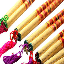 buy fancydresswale wooden dandiya stick 50 pair 35 6 cms x 1 3