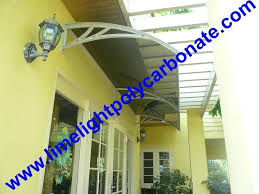 Polycarbonate Window Awnings Polycarbonate Awning Diy Awning Door Canopy Window Awning