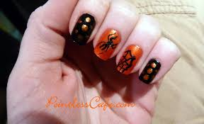 halloween nails pointless cafe