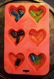 melted stained glass ornament craftpenguin