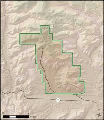 Colorado National Monument Map by Fossil Butte National Monument