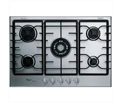 whirpool piani cottura piani cottura whirlpool gmr 7542 ixl inox in offerta euronics
