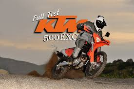 dirt bike magazine ktm 500exc dual sport full test