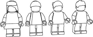 lego people coloring page wecoloringpage