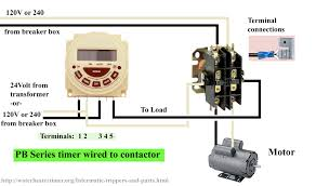how to wire timers see contactor wiring wiring diagram components