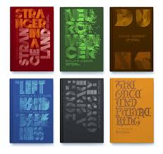 Or Books A New Type Penguin Reinvents Classic Sci Fi Book Covers With Clever Type Design